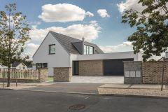 První vzorový e4 dům - Újezd u Průhonic