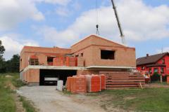 Konstrukce z panelů je ideální pro sedlovou nebo pultovou střechu